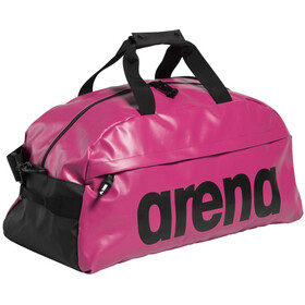 arena Team 40 All Black Duffel, pink/sort
